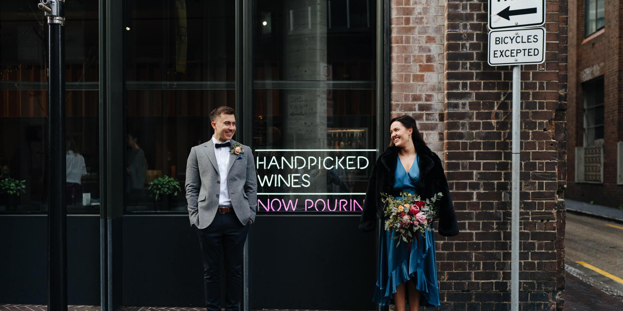 Alternative Inner-City Wedding, Spice Alley