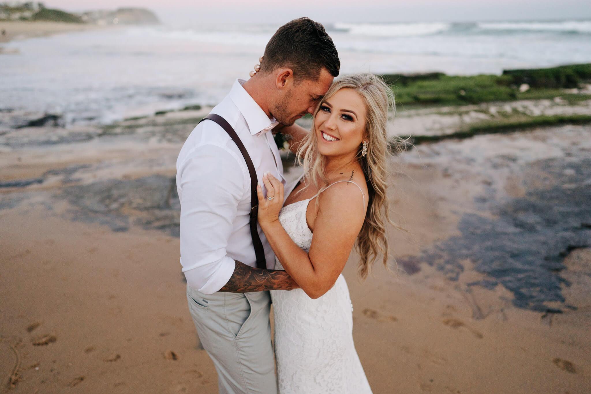 Sun Drenched Coastal Wedding, Newcastle